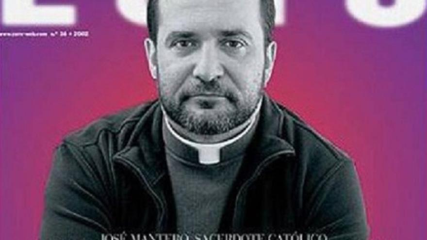 La portada de la revista Zero en la que anunció su homosexualidad en 2002.