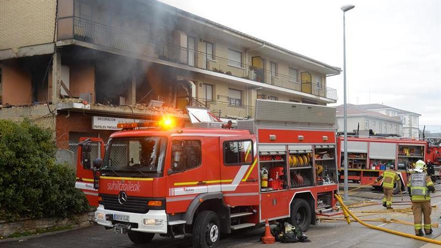 Cuatro heridos en explosión durante la remodelación de una vivienda en Burgos