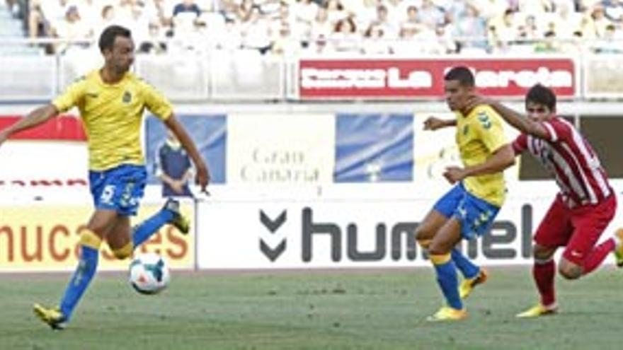 Partido entre el Lugo y la UD Las Palmas de la pasada temporada en el Estadio de Gran Canaria. udlaspalmas.es