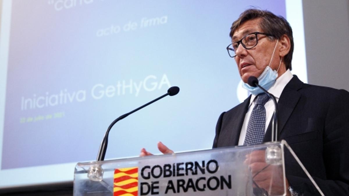 El vicepresidente y consejero de Industria, Competitividad y Desarrollo Empresarial, Arturo Aliaga