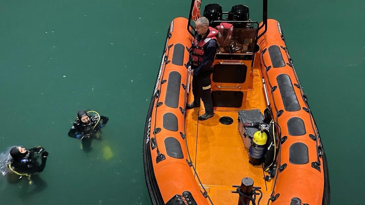 Operativo de búsqueda en el Puerto de Castellón