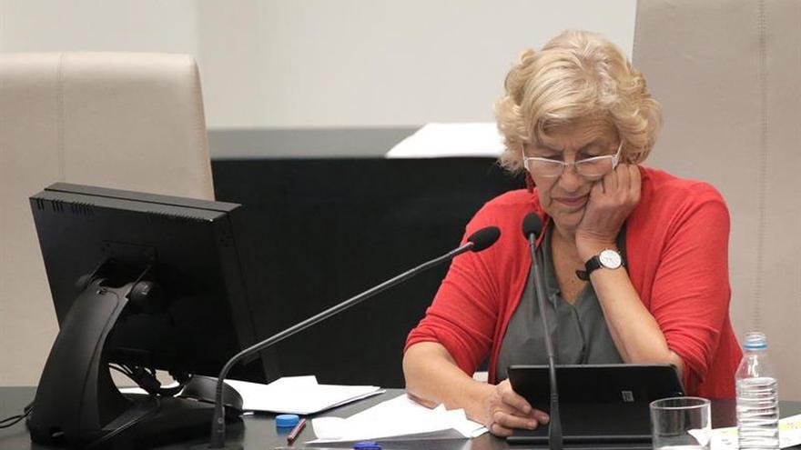 """Carmena pide en el Vaticano empadronar a los inmigrantes e impedir su """"muerte legal"""""""