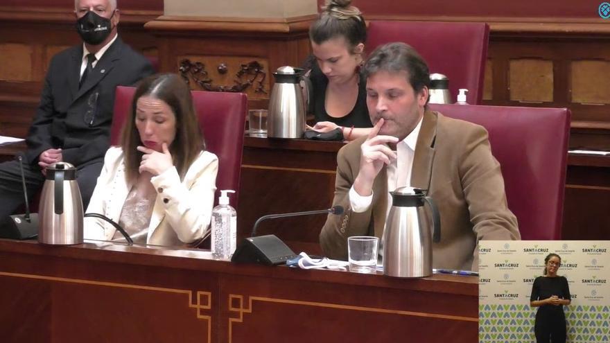 Siga en directo el pleno de debate de la moción de censura en Santa Cruz de Tenerife