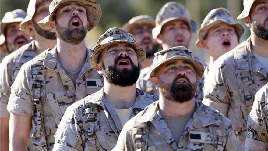 La Legión despide a los 200 participantes en la operación Apoyo Irak