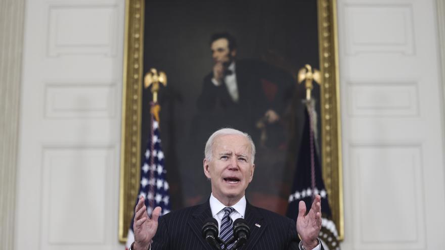 """Biden defenderá ante el Congreso que EE.UU. """"vuelve a estar en marcha"""""""