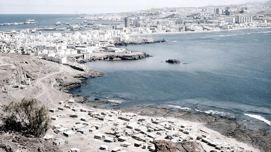 Playa de El Confital, 1970