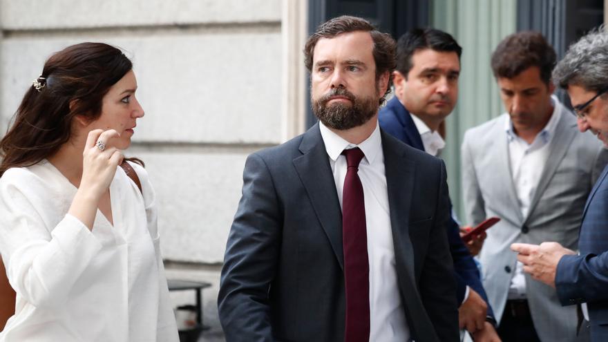 """Vox augura un """"gobierno del Frente Popular"""" aunque Sánchez aún no ha ofrecido """"nada"""" a Podemos"""