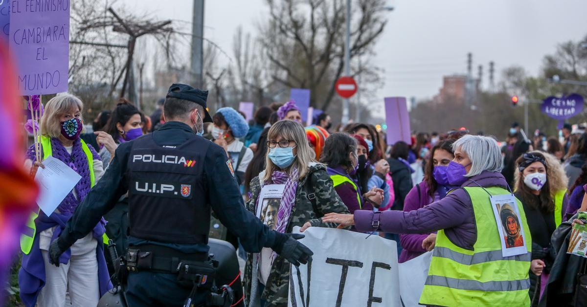 La Justicia mantiene la prohibición de las protestas del 8M en Madrid