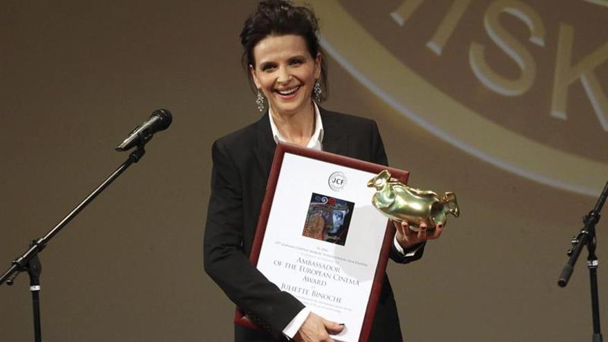 "Juliette Binoche recibirá en Madrid el primer premio ""Women in action"""