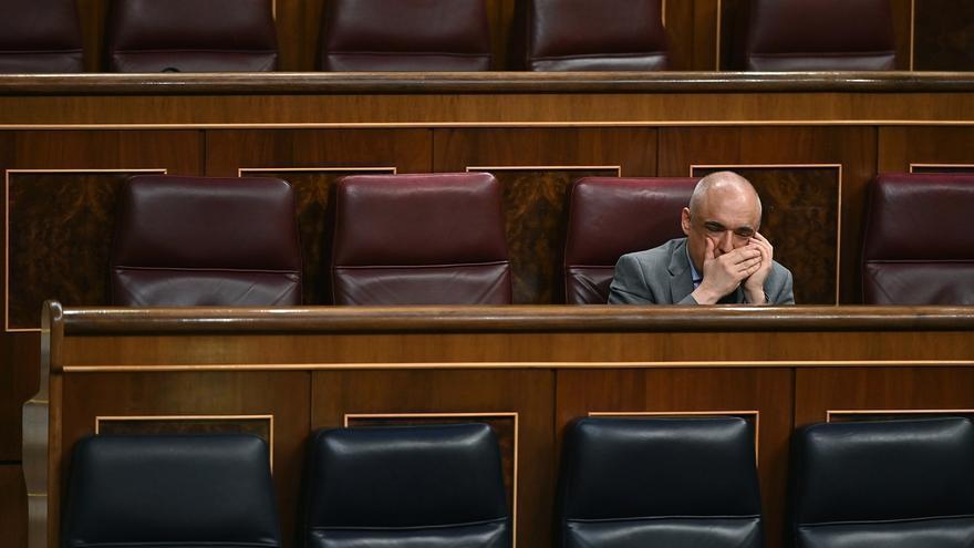 El diputado del PSOE Rafael Simancas.