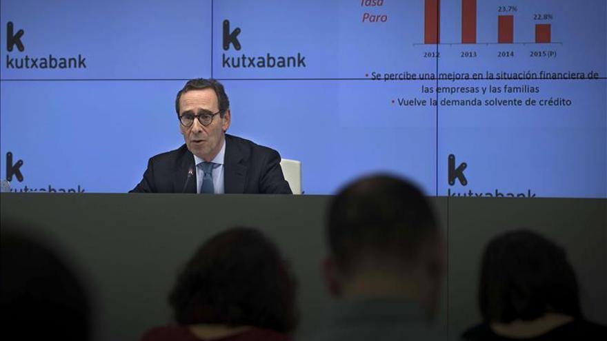 Kutxabank aumenta un 18,8 % su beneficio en el primer semestre del año
