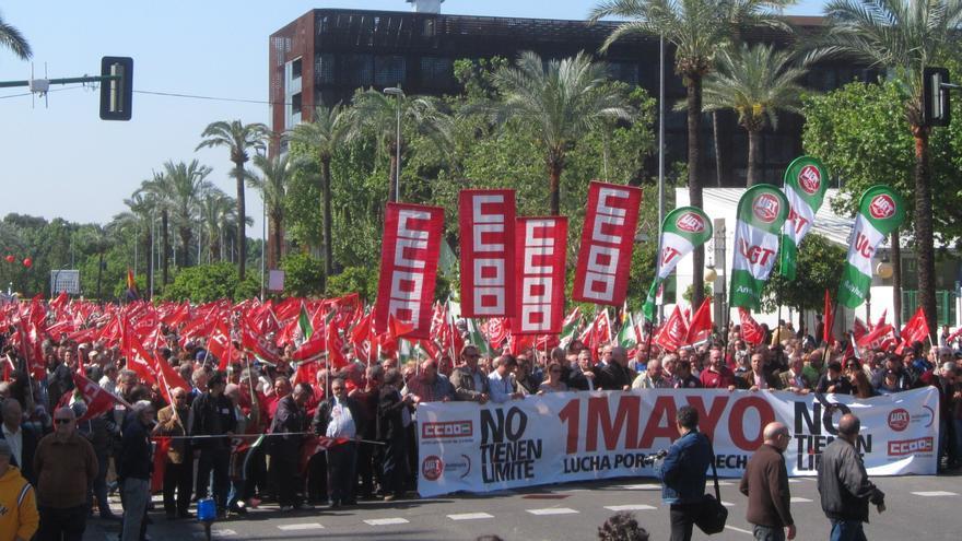 Decenas de miles de personas se manifiestan en las ocho provincias andaluzas