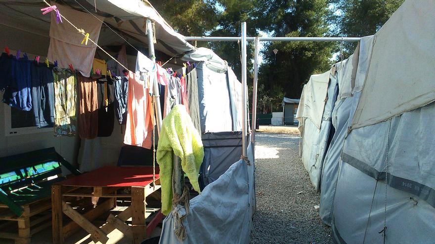 Campo de refugiados griego de Ritsona / Teresa Fuentes