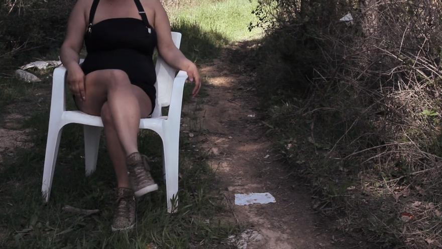 Una de las trabajadoras sexuales de carretera del documental 'De putas'