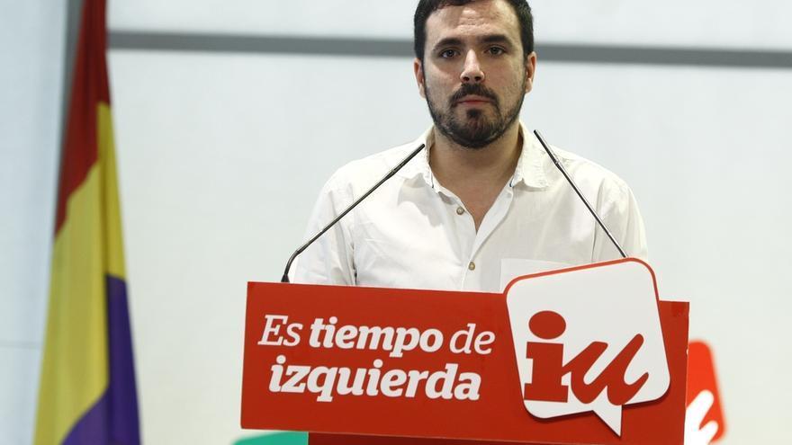 """Garzón achaca parte de la pérdida de votos al """"caótico"""" proceso de confluencia con Podemos y resta culpa a IU"""