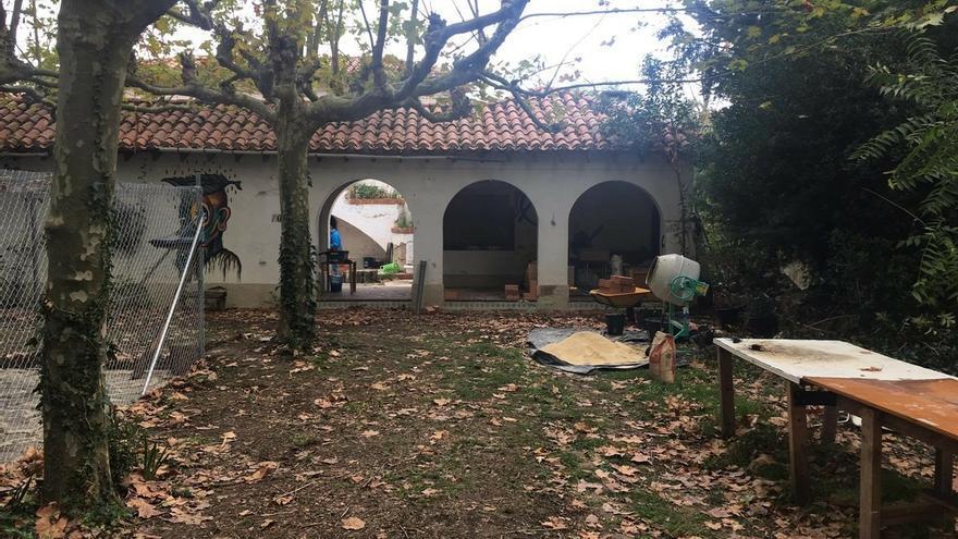 Tapiados los accesos a la Casa Arraiza, que había permanecido ocupada desde septiembre de 2017