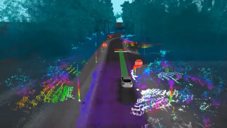 Los coches autónomos perciben el mundo que les rodea a través de sus propios sentidos