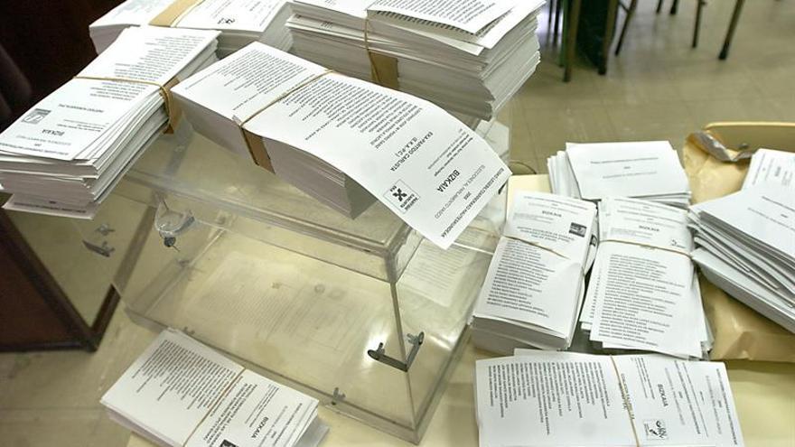 Los partidos vascos gastaron más de 6 millones en las elecciones autonómicas