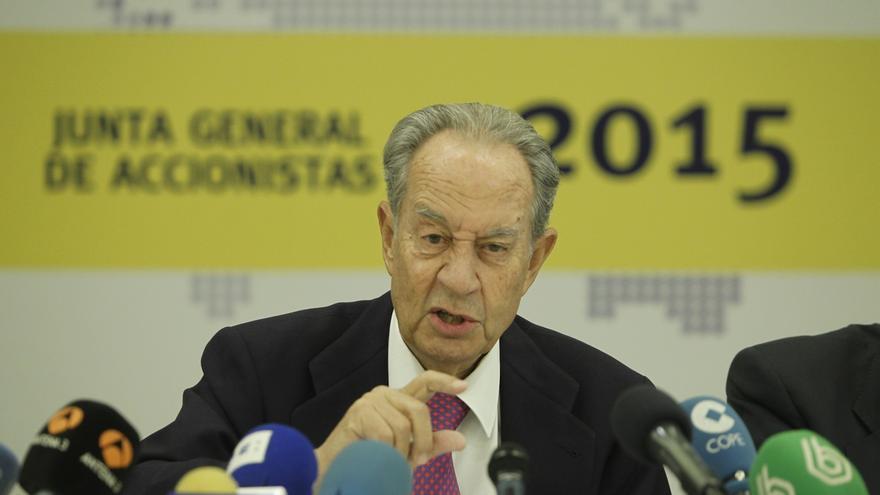 (Amp.) El juez Castro cita a declarar a Villar Mir como investigado el 9 de enero