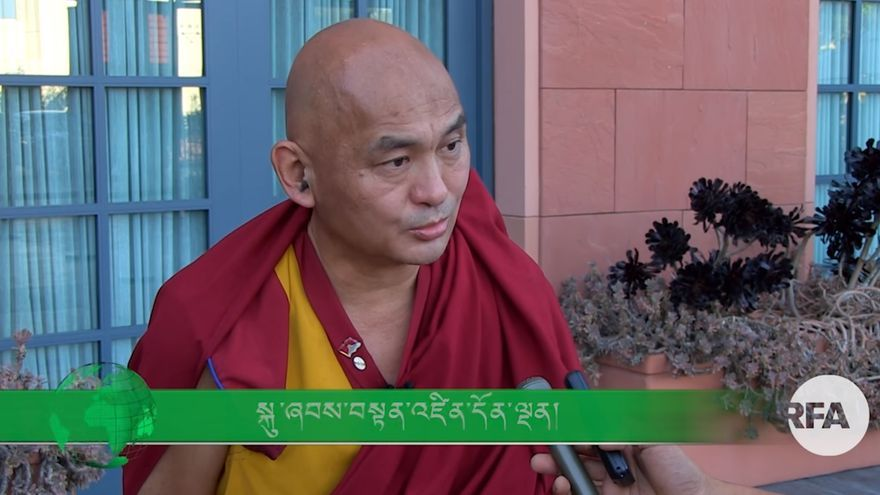 Entrevista al monje acusado, Tenzin Dhonden, en el canal RFATibetan. Junio de 2017.