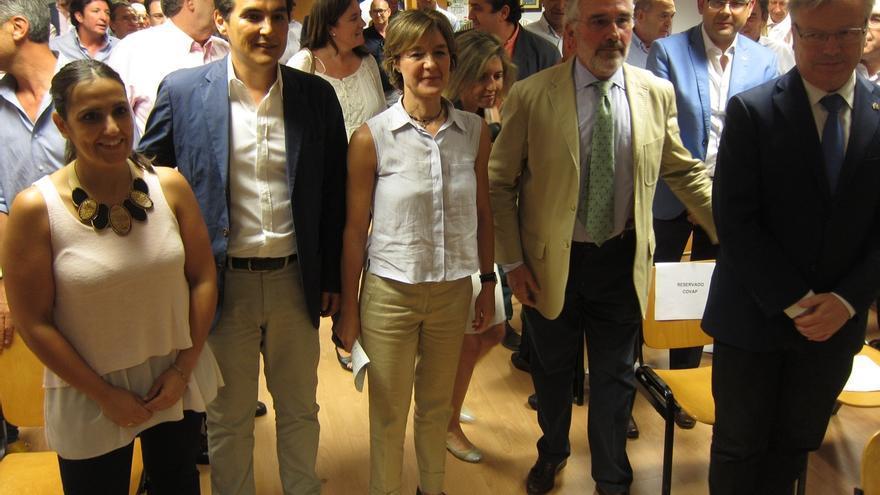 """García Tejerina destaca que """"lo mejor"""" que le ha pasado al campo andaluz en estos cuatro años es el gobierno del PP"""
