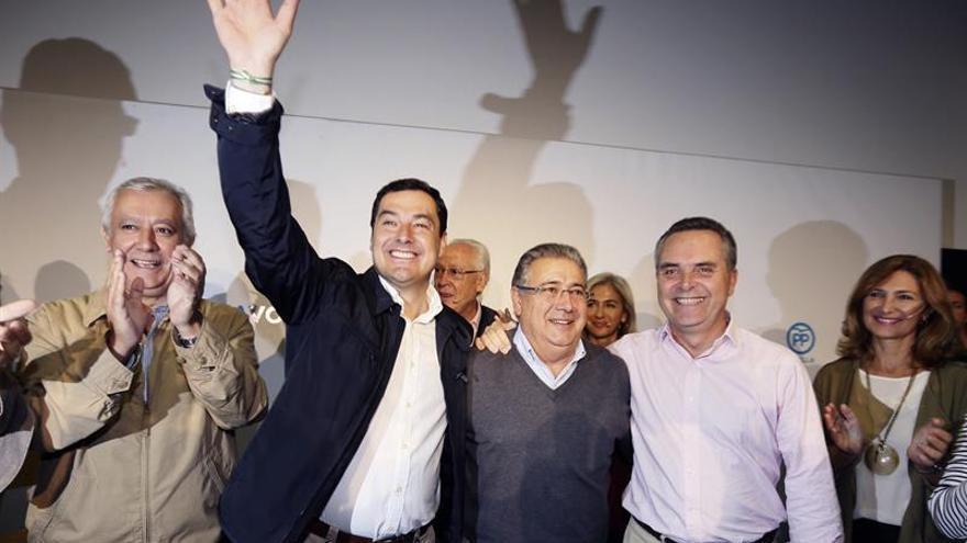 """Juanma Moreno destaca el """"orgullo"""" del PP-A por los 4 ministros andaluces"""