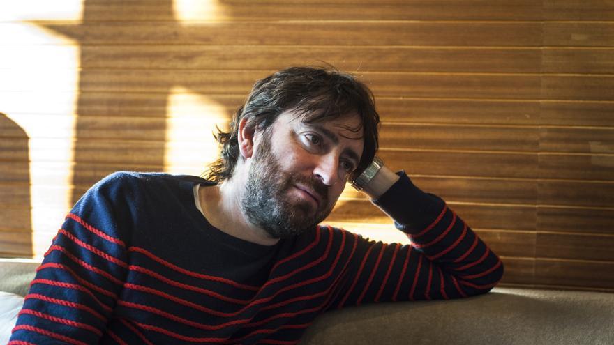 Sánchez Arévalo durante su conversación con eldiario.es Cantabria. | JOAQUÍN GÓMEZ SASTRE