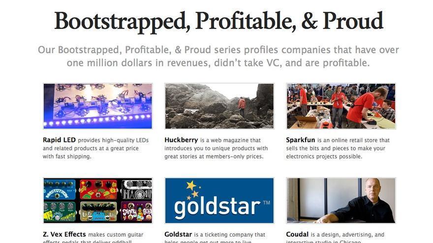 Autofinanciadas, rentables y orgullosas: la web en la que 37signals habla de empresas que pasan de los círculos de inversión