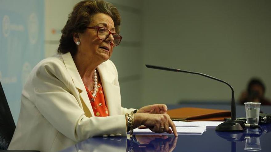 Rita Barberá acepta declarar ante el juez por el caso de supuesto blanqueo