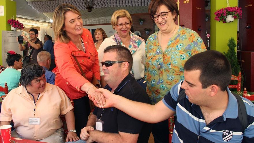 Diputación celebra su tradicional encuentro con mayores y personas discapacitadas en el Corpus