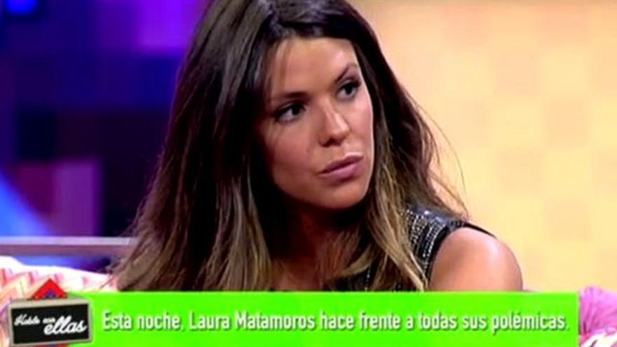Laura Matamoros en 'Hable con ellas' y la guerra de los 'topos paparazzi'