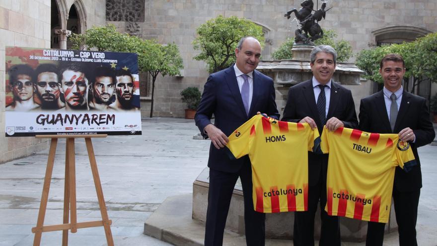 Homs anima a los catalanes a asistir al partido de la selección catalana del 30 de diciembre