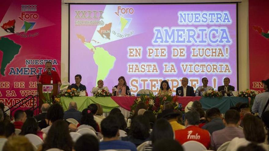 El Foro de Sao Paulo acuerda acompañar la Asamblea Constituyente de Venezuela