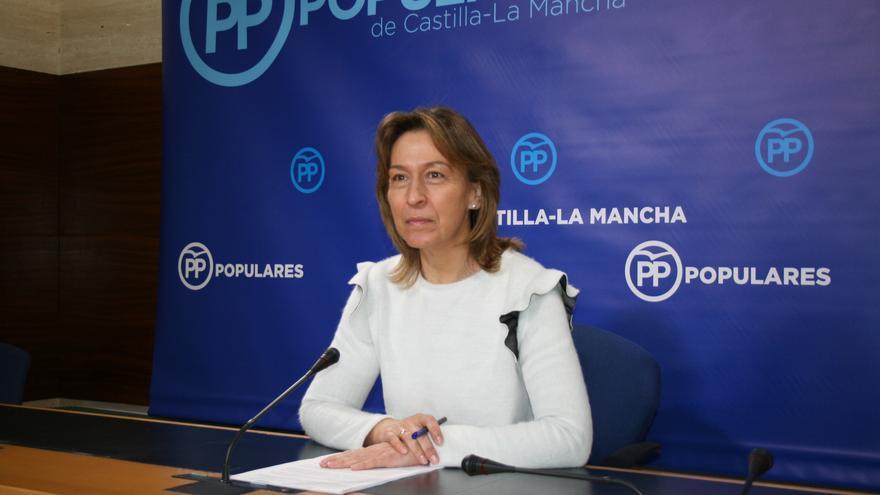 La presidenta del Grupo Popular, Ana Guarinos