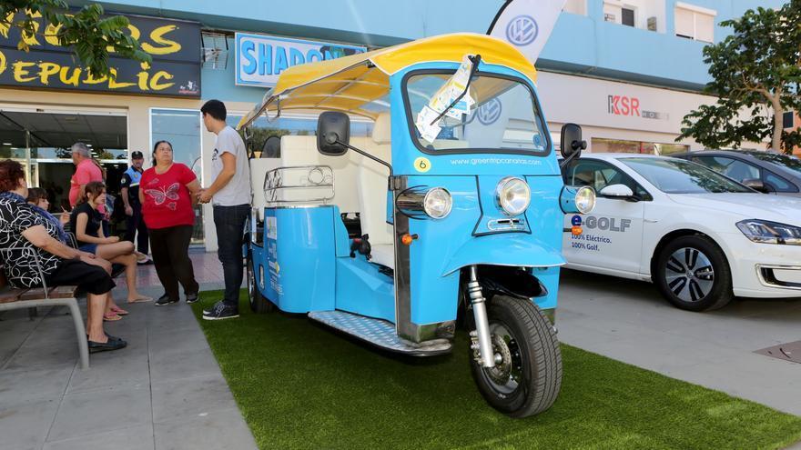 Los vehículos eléctricos cobran protagonismo en la cuarta edición de la Feria del Sol.