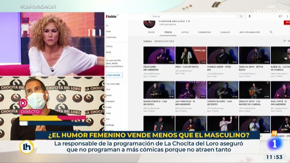 Cristina Fernández entrevista al gerente de 'La Chocita del Loro' en La 1