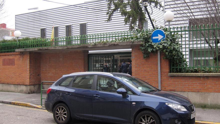 La comisaría de la Policía Nacional de Delicias, en Valladolid.