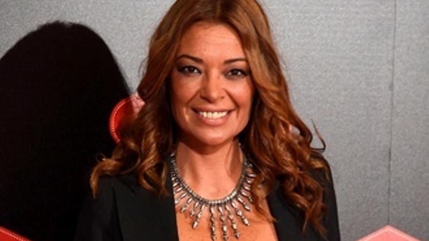 La actriz y presentadora Lucía Hoyos, también concursante de 'GH VIP' en Telecinco