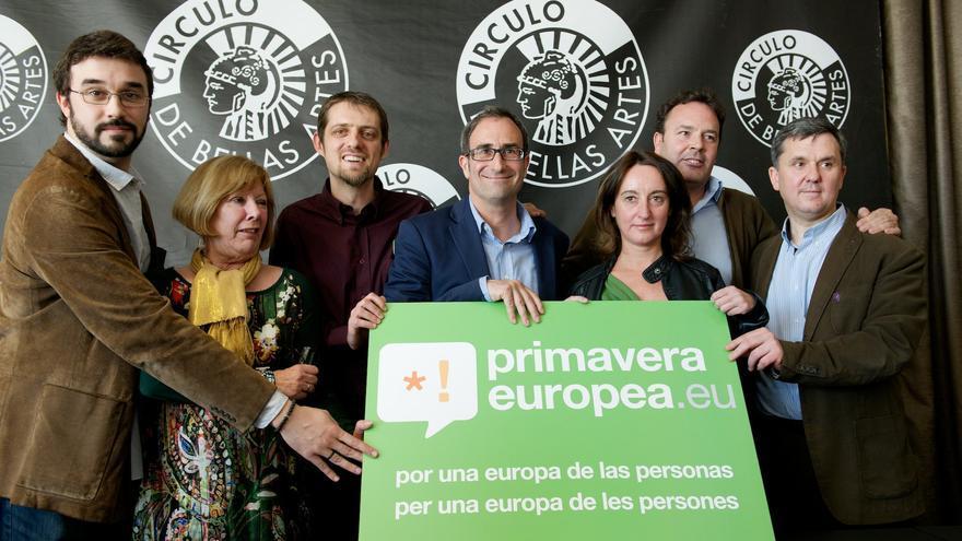 Presentación de la coalición a las europeas liderada por Compromís y Equo / FOTO: Equo