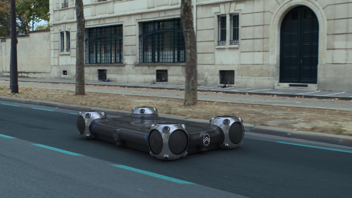 La plataforma desarrollada por Citroën en la que pueden montarse diferentes Pods.