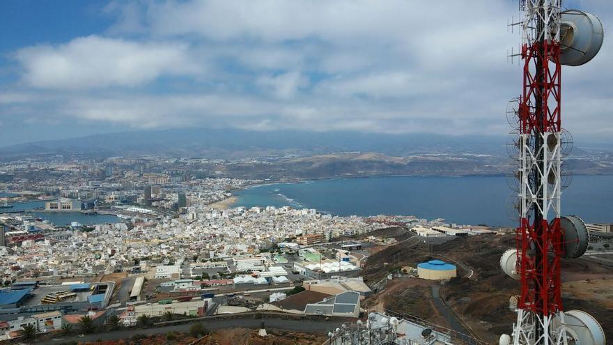 Vista de Las Palmas de Gran Canaria desde El Vigía