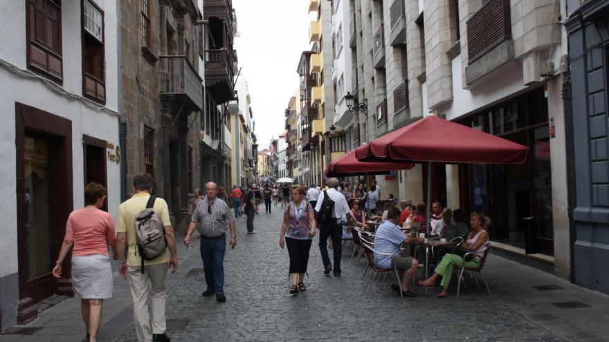 Imagen de archivo de la Calle Real (O'Daly) de Santa Cruz de La Palma.