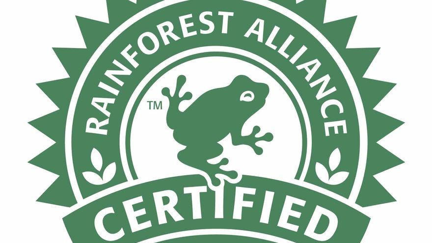 Sello de Rainforest Alliance