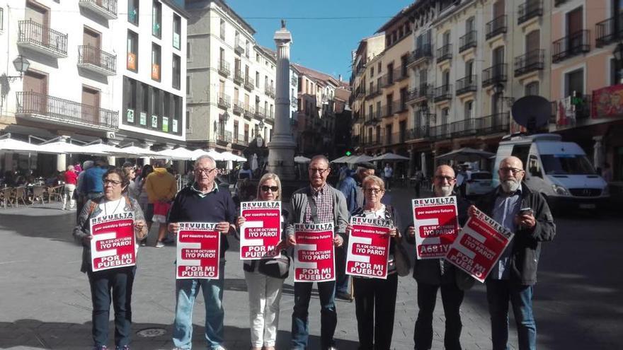 Conquenses en Teruel contra la despoblación