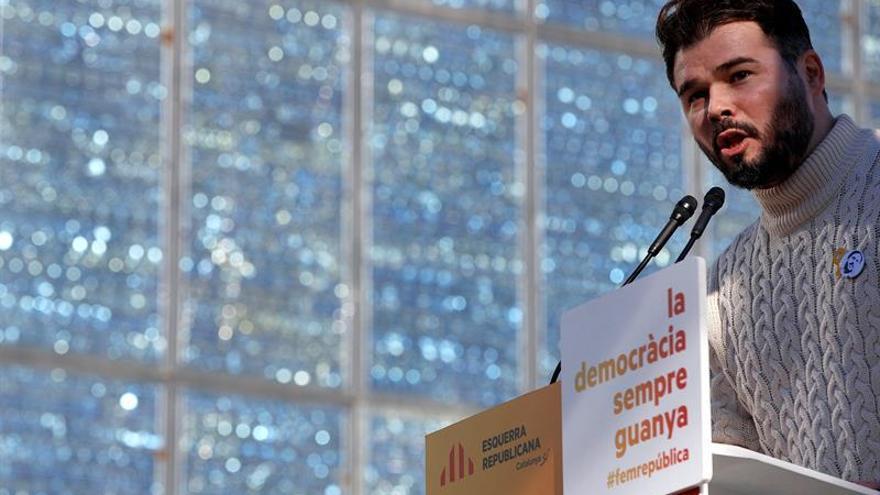 """Rufián responde a Borrell que """"el mejor desinfectante es la cal viva"""""""