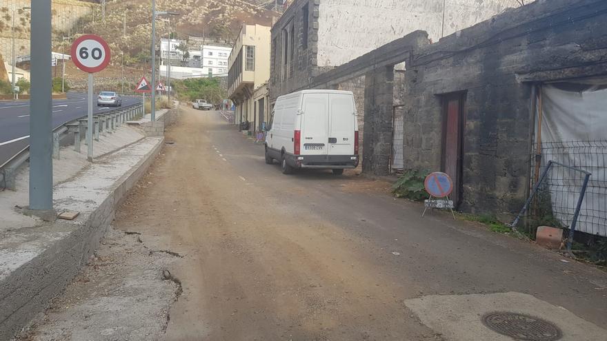 Zona de las Norias, en la entrada sur de Santa Cruz de La Palma.