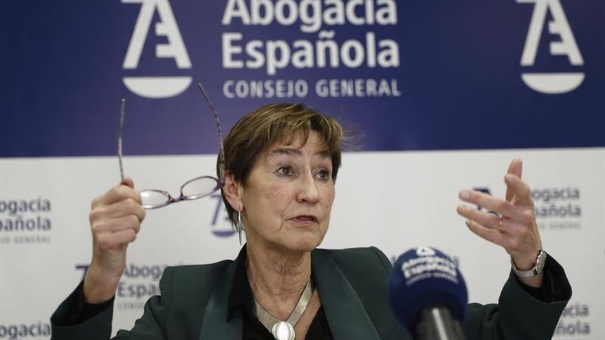 """La presidenta de Abogacía """"exige"""" que no se aplique el IVA al turno de oficio"""