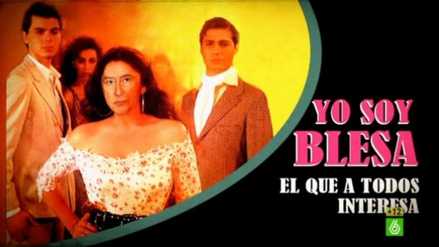 """""""Yo soy Blesa, el que a todos interesa"""", en El Intermedio"""