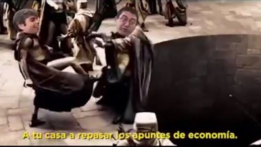 Vídeo parodia de 300 del PP sobre el cese de Sánchez Mato