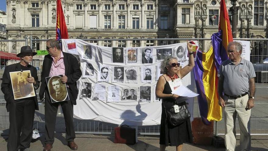 Republicanos recuerdan en París a víctimas de golpe de Estado 80 años después